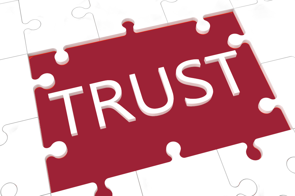 Where you place your trust matters